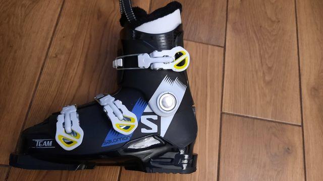 Juniorskie buty narciarskie 1 sezon salomon 24,5