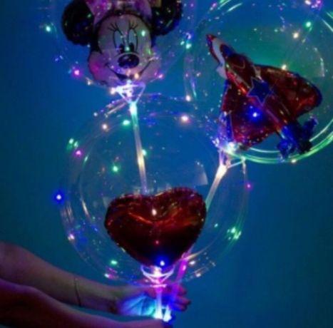 Шарики Бобо, светящейся  шары бобо