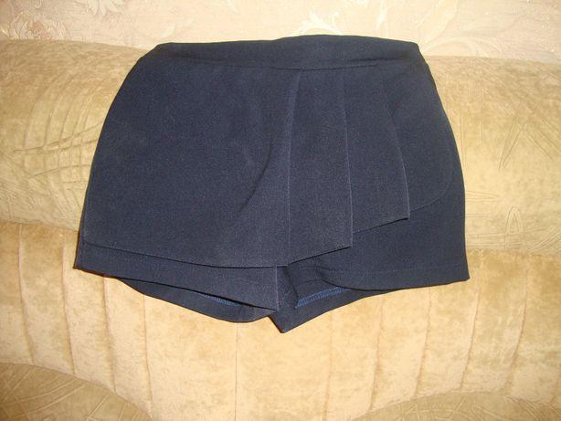 Шкільні шорти для дівчинки , розмір 146