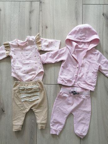 Dwa komplety dla niemowlaka 56