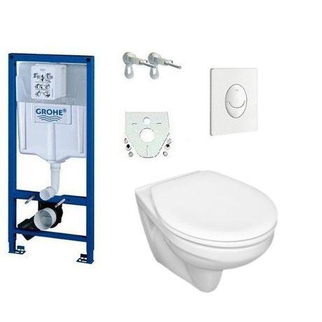 GROHE Stelaż 3w1 do WC z przyciskiem i kątownikami Odbiór Międzyzdroje