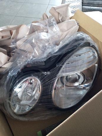 reflektor lewy mercedes w211 depo nowy