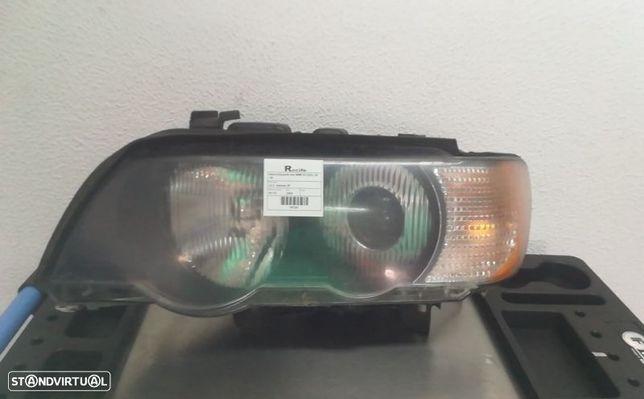 Optica Farol Esquerda Esq Xenon Bmw X5 (E53)