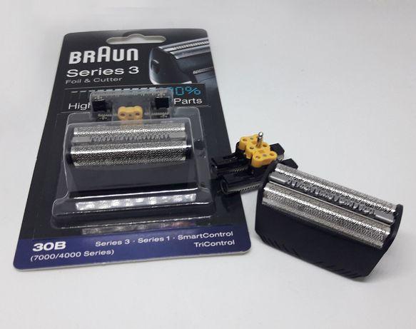 Оригинал блистер блок Braun сетка браун 30B, 30S, Series 4000 и 700