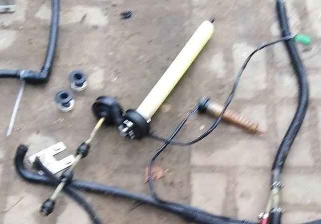 Yamaha Wave Rider 1996 skuter wodny części linka trymu zamki rednany