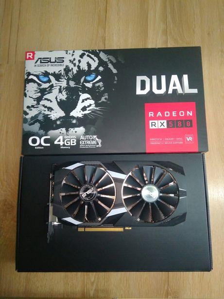 Відеокарта Asus DUAL Radeon RX 580 4gb OC
