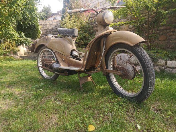Aermacchi Cigno 125n, stary motocykl, klasyk