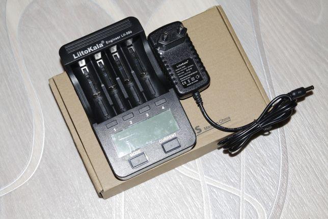 Зарядное устройство Liitokala Lii-500 (с блоком питания)