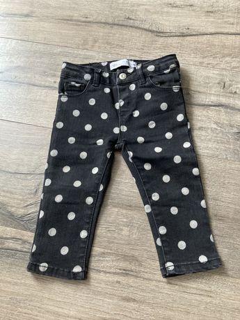 Spodnie jeansowe Zara 80.