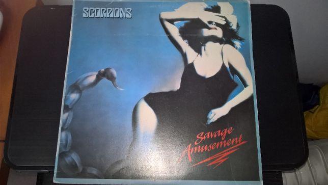 SCORPIONS - Savage Amusement LP okładka