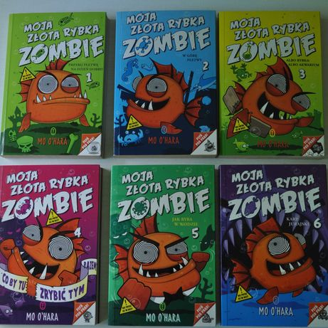 Moja Złota Rybka Zombie  Mo O'Hara  części 1-6