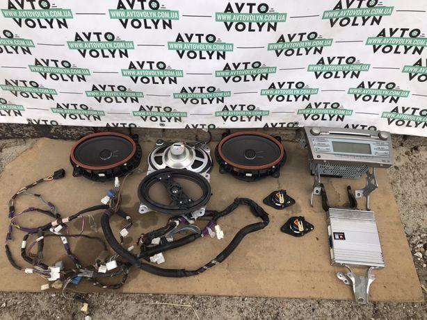 Динамік усилитель проводка магнітола комплект JBL Toyota Camry 06-11