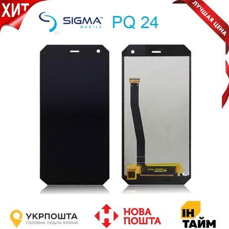 Дисплей + сенсор Sigma PQ24 Black ORIGINAL!