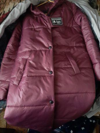 Курточка бордовый цвет