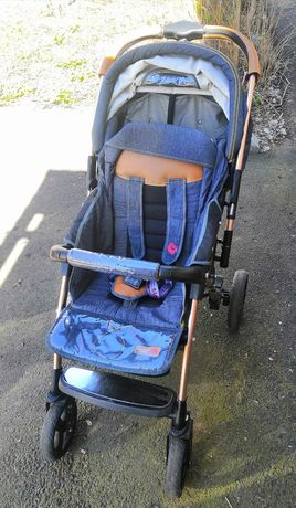 Детская коляска Baciuzzi B20 JEANS с перекидной ручкой
