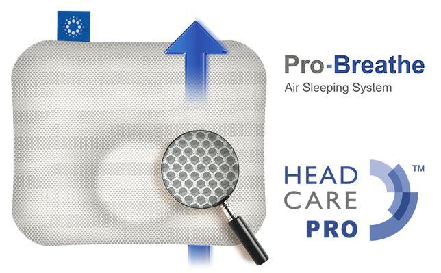 HEAD CARE PRO Pro-breath - poduszka ortopedyczna dla niemowląt roz. M
