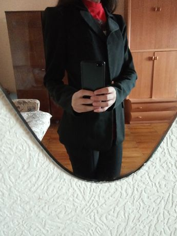 Чёрный пиджак, жакет Irena Richi, размер S