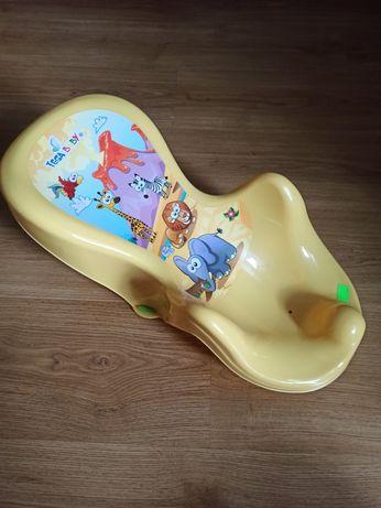 Leżaczek do kąpieli dla niemowlaka