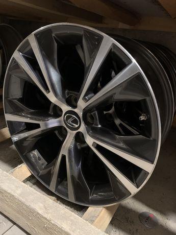 777 Оригинальные диски R18 5/114,3 Toyota Highlander RX Хайлендер Rav4