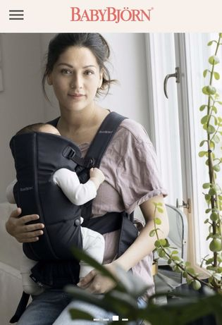 Рюкзак - кенгуру, переноска для ребенка от рождения, Турция, BabyBjorn