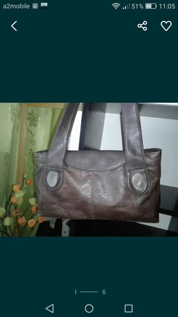 Brązowa torebka torba