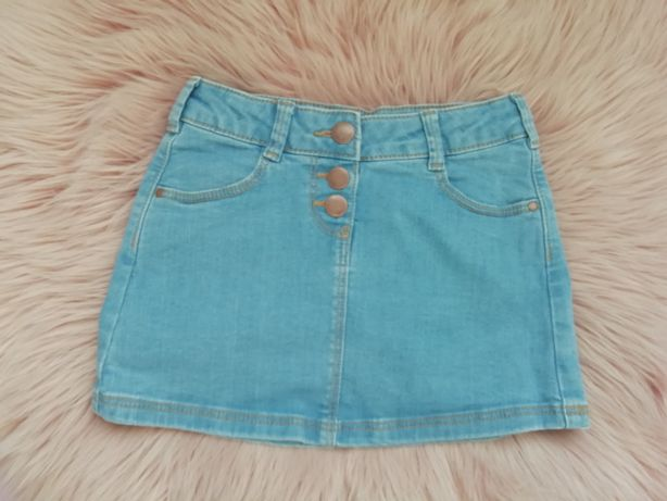 spódniczka jeansowa 110