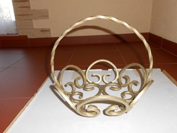 Dekoracyjny kuty koszyk na owoce i nie tylko - hand made