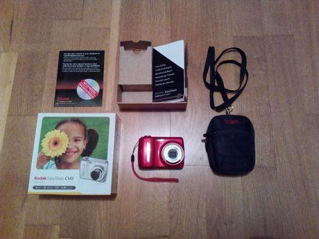 Kompaktowy mini aparat fotograficzny KODAK C142 zestaw + futerał
