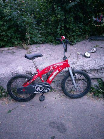 Велосипед Dino Bikes BMX 165XC, красный