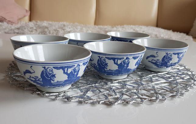 Miseczki , chińska porcelana 6szt