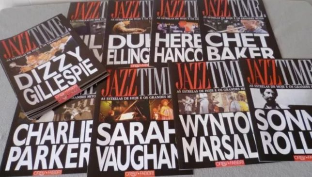 CDs & Revistas • Colecção JAZZ TIME ORBIS FABRI