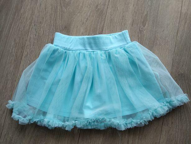 Spódnica błękitna rozmiar 74