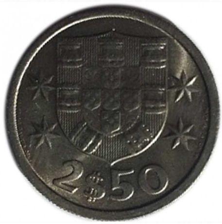 2 Moedas de 2$50 de 1966 raras