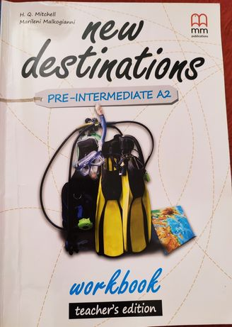 New destination pre-intermediate A2 work book Teacher's edition
