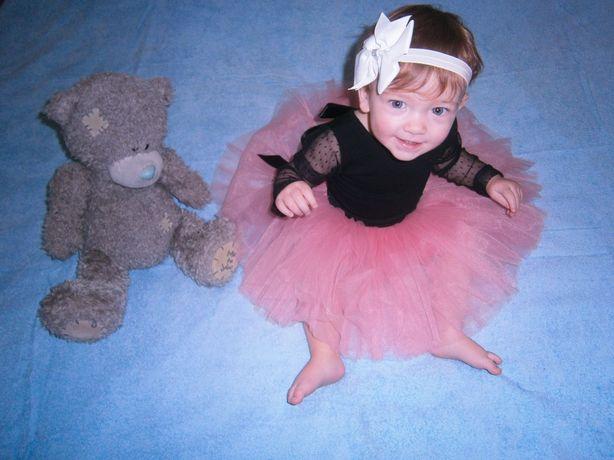 Платье, костюм, фатиновая юбка на девочку 1-2 года.