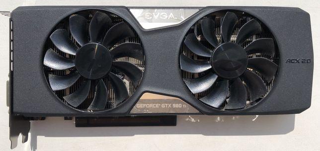 Видеокарта EVGA GeForce GTX 980 Ti 6gb (под ремонт)