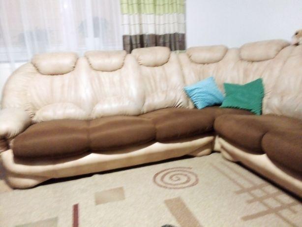 Naroznik z funkcja spania +fotel