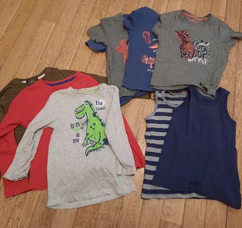 bluzki chłopiece 110 - 116