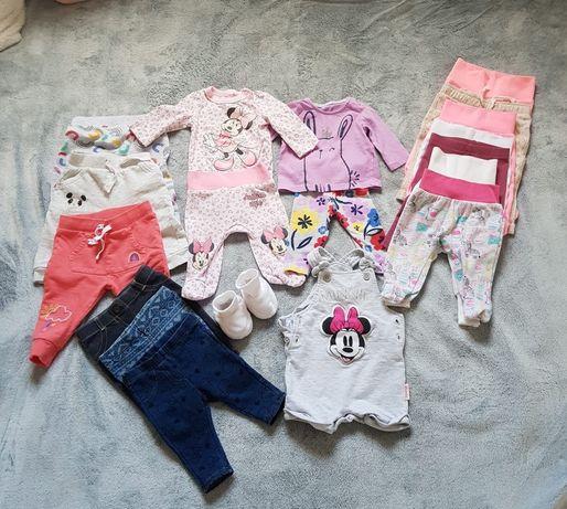 4 dresy , 3 jeansy , 6 getry , 2 kompleciki , ogrodniczki , buty