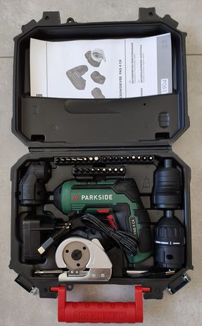 PARKSIDE Wkrętarka akumulatorowa 4 w 1 PAS 4 4 V