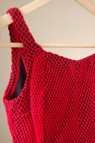 Fato de Banho Vintage (antigo com etiqueta) Vermelho TM 36