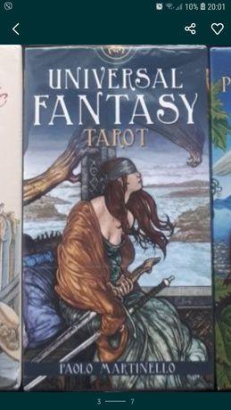 Universal fantasy tarot
