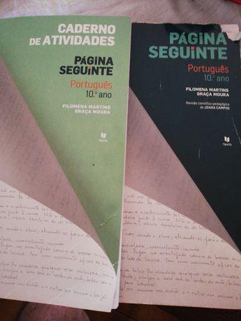Manual escolar português 10° ano - Página Seguinte