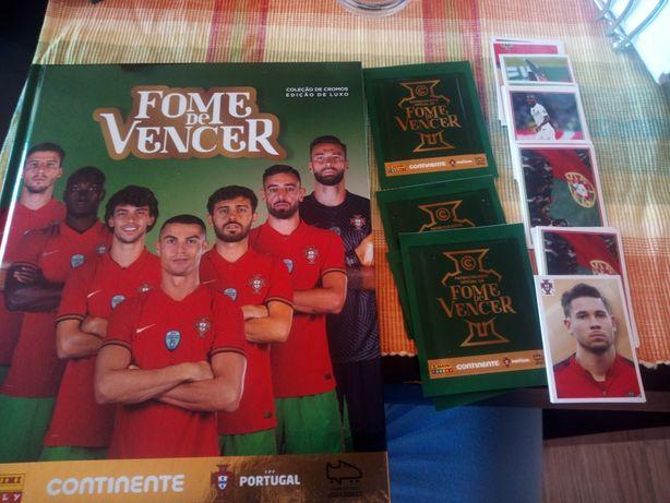 Vendo autocolantes selos cromos fome vencer selecao Portugal