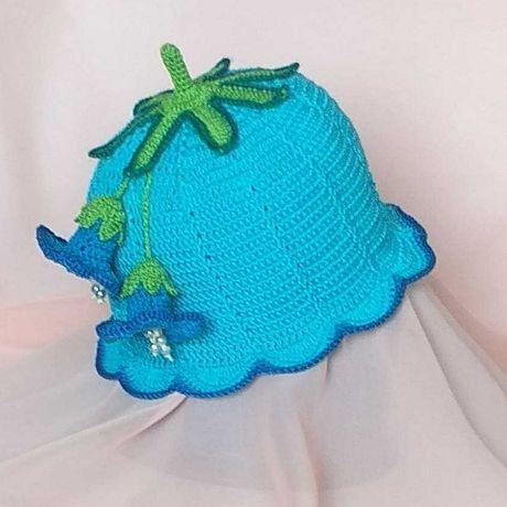 Gorro / Chapéu para princesa feita á mão.