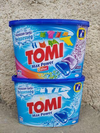 Капсули для прання Томі. Капсулы для стирки Tomi 42шт/уп. оригиналы!