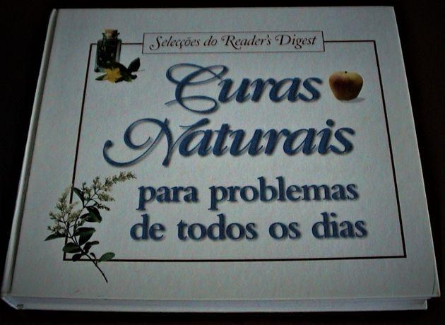CURAS NATURAIS Para problemas de todos os dias.