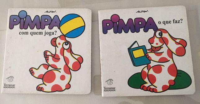 """Livro """" O Pimpa """""""