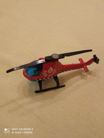 Juniors (Corgi) Fire Chief Helicopter - Red Copter Chopper