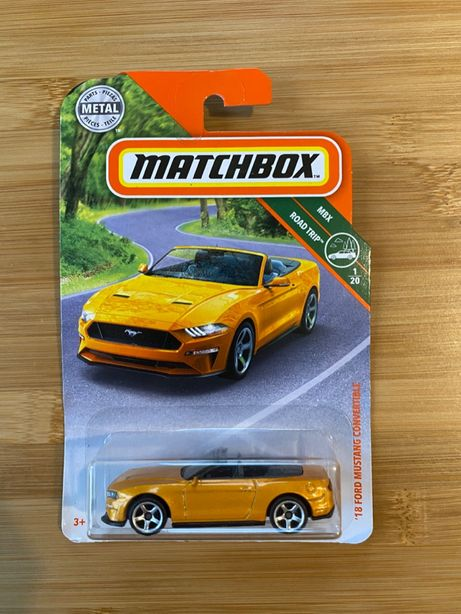 Matchbox Mustang Convertible [2019] RZADKI!
